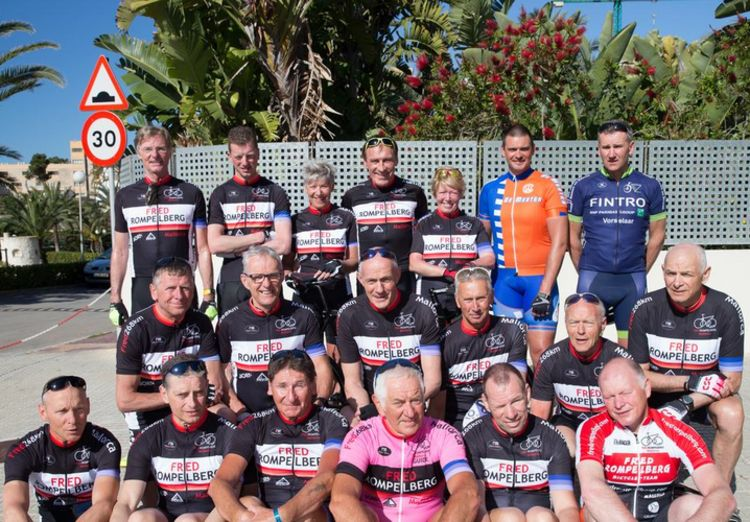 Picture 4: Fred Rompelberg 268 km: A 2nd trip to Mallorca raffled among our guests by the many bookings, Fred 268 km