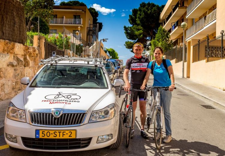 Picture 1: Fred Rompelberg 268km: Especially for the amazing bookings for 2017, a 7th trip to Mallorca completely costless!