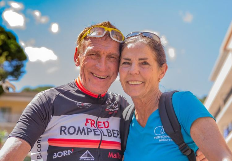 Picture 2: Fred Rompelberg 268km: Especially for the amazing bookings for 2017, a 7th trip to Mallorca completely costless!