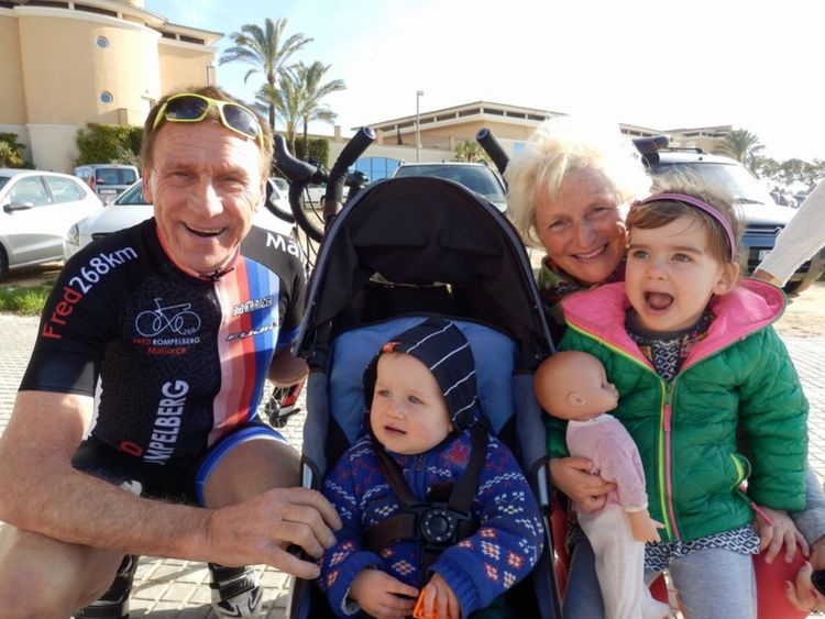 Picture 3: Fred Rompelberg 268 km: Especially for the amazing bookings for 2017, a 8th trip to Mallorca completely costless!