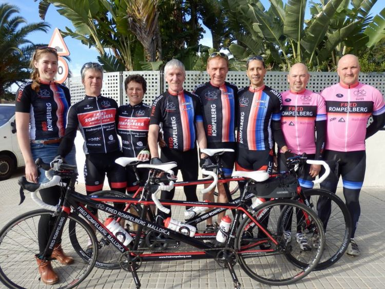 Picture 20: Fred Rompelberg 268 km: Especially for the amazing bookings for 2017, a 11th trip to Mallorca completely costless!