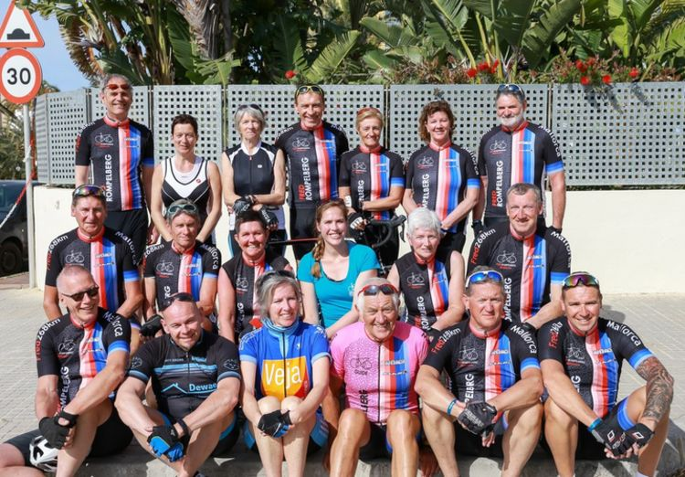 Picture 12: Fred Rompelberg 268 km: Record-breaking week on Mallorca, 680 guests in 1 week.