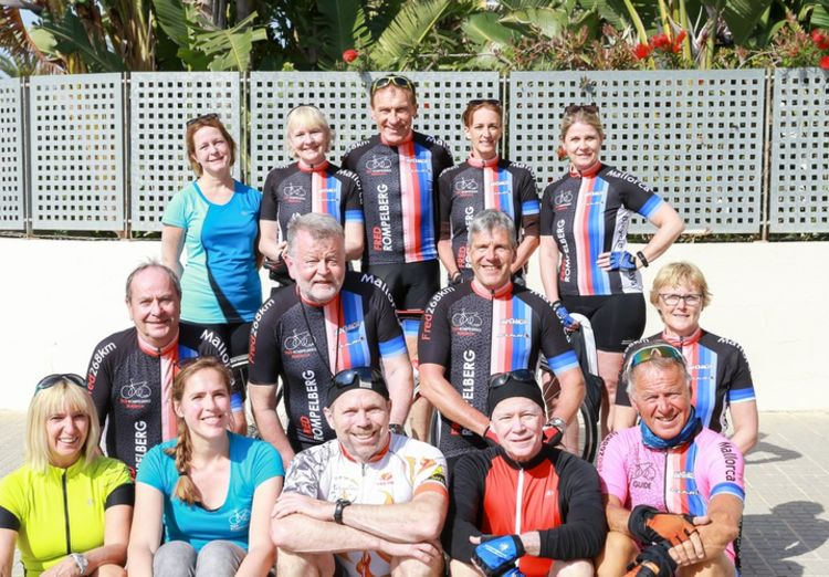 Picture 13: Fred Rompelberg 268 km: Record-breaking week on Mallorca, 680 guests in 1 week.