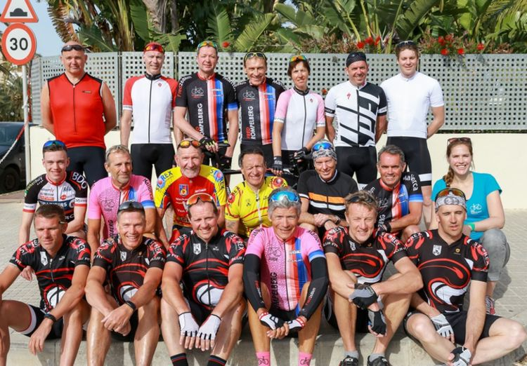 Picture 16: Fred Rompelberg 268 km: Record-breaking week on Mallorca, 680 guests in 1 week.