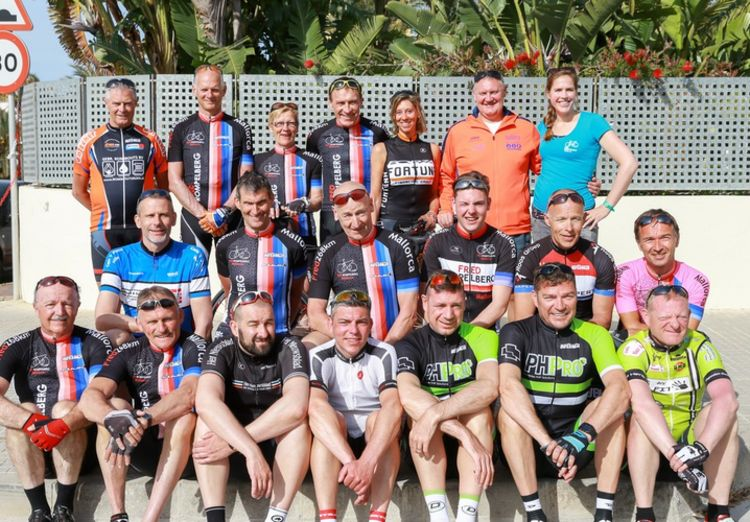 Picture 18: Fred Rompelberg 268 km: Record-breaking week on Mallorca, 680 guests in 1 week.