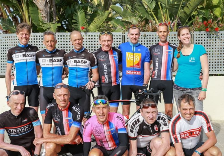 Picture 21: Fred Rompelberg 268 km: Record-breaking week on Mallorca, 680 guests in 1 week.
