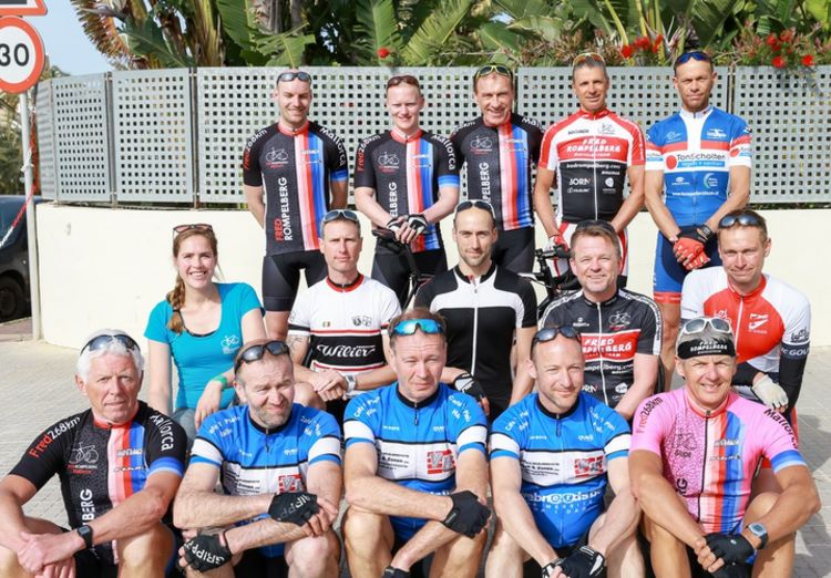 Picture 23: Fred Rompelberg 268 km: Record-breaking week on Mallorca, 680 guests in 1 week.
