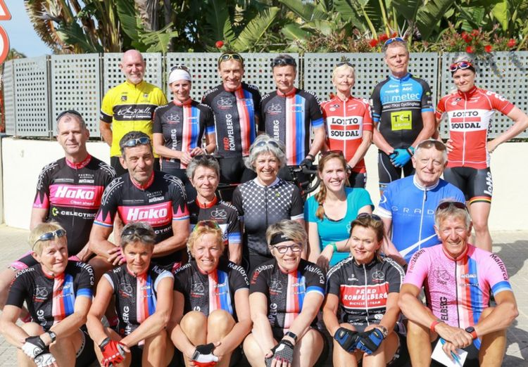 Picture 27: Fred Rompelberg 268 km: Record-breaking week on Mallorca, 680 guests in 1 week.