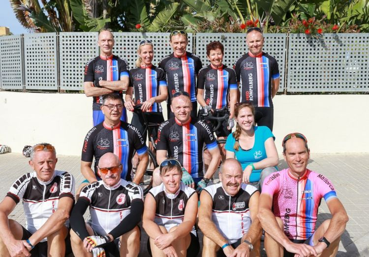 Picture 28: Fred Rompelberg 268 km: Record-breaking week on Mallorca, 680 guests in 1 week.