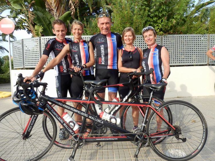 Picture 11: Fred Rompelberg 268 km: We are still on Mallorca till October 29, 2017, last minute offer Hotel Taurus Park!