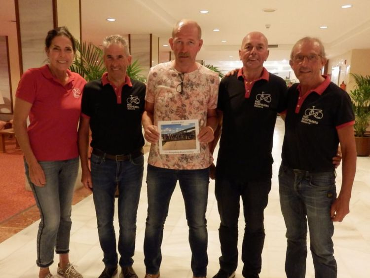 Picture 11: Fred Rompelberg 268 km: We are still on Mallorca till October 29, 2017!