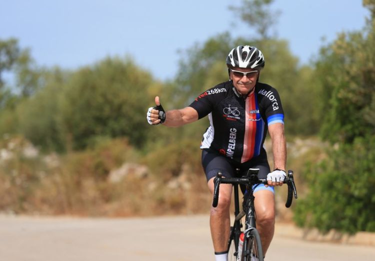 Picture 16: Fred Rompelberg 268 km: The Tiny-Teamday / Mallorca on Saturday, November 25 was very good.