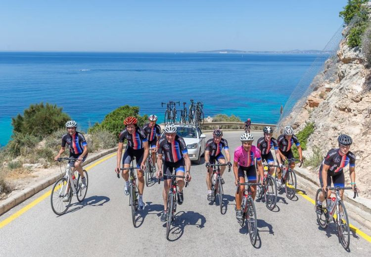 Picture 10: Fred Rompelberg 268 km:Fred Rompelberg 268 km: 7th trip for free, for our guests who book their cycling holiday 2018 with us.