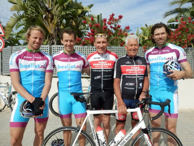 Picture 4: Fred Rompelberg 268 km:Fred Rompelberg 268 km: The new season has started! The Fred Rompelberg team is ready for you!