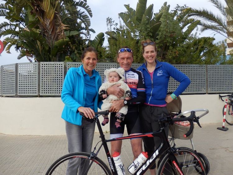 Picture 1: Fred Rompelberg 268 km: Good news: In the summer we will also be on Mallorca from this year.