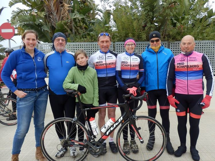 Picture 16: Fred Rompelberg 268 km: Especially for the amazing bookings for 2018, a 9th trip to Mallorca completely costless!