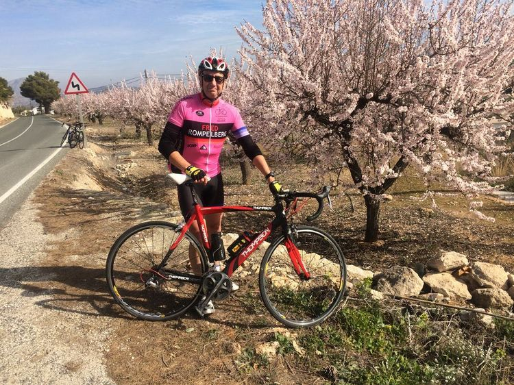 Picture 20: Fred Rompelberg 268 km: Especially for the amazing bookings for 2018, a 9th trip to Mallorca completely costless!