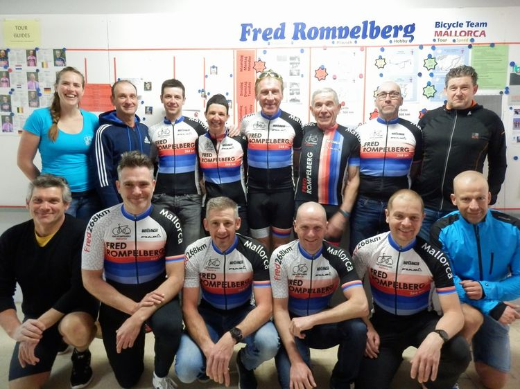 Picture 21: Fred Rompelberg 268 km: Especially for the amazing bookings for 2018, a 10th trip to Mallorca completely costless!