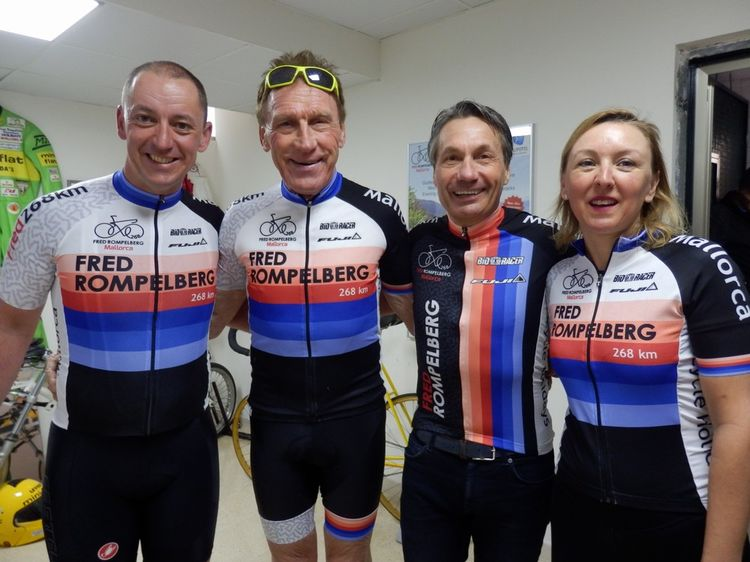 Picture 3: Fred Rompelberg 268 km: Especially for the amazing bookings for 2018, a 10th trip to Mallorca completely costless!