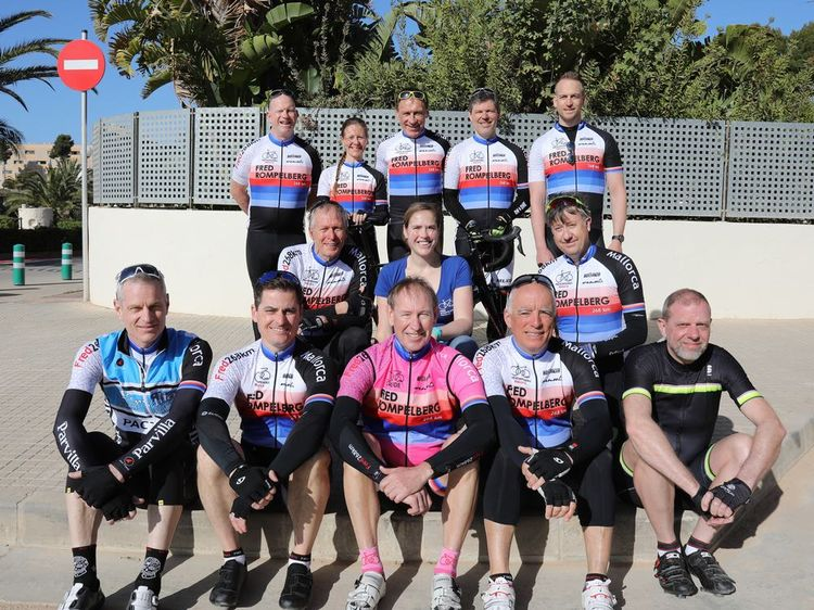 Picture 20: Fred Rompelberg 268 km: Especially for the amazing bookings for 2018, a 11th trip to Mallorca completely costless!