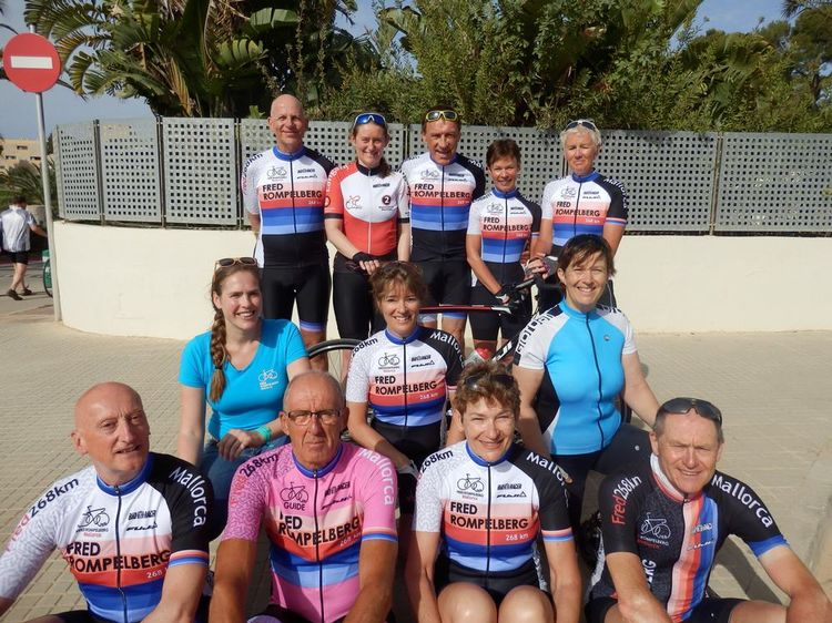 Picture 21: Fred Rompelberg 268 km: Especially for the amazing bookings for 2018, a 12th trip to Mallorca completely costless!