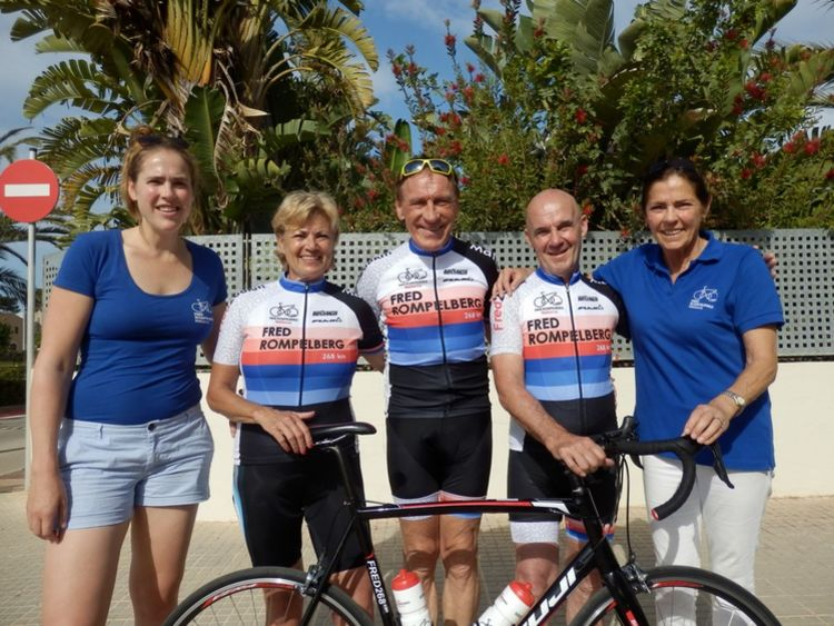 Picture 6: Fred Rompelberg 268 km: Especially for the amazing bookings for 2018, a 14th trip to Mallorca completely costless!