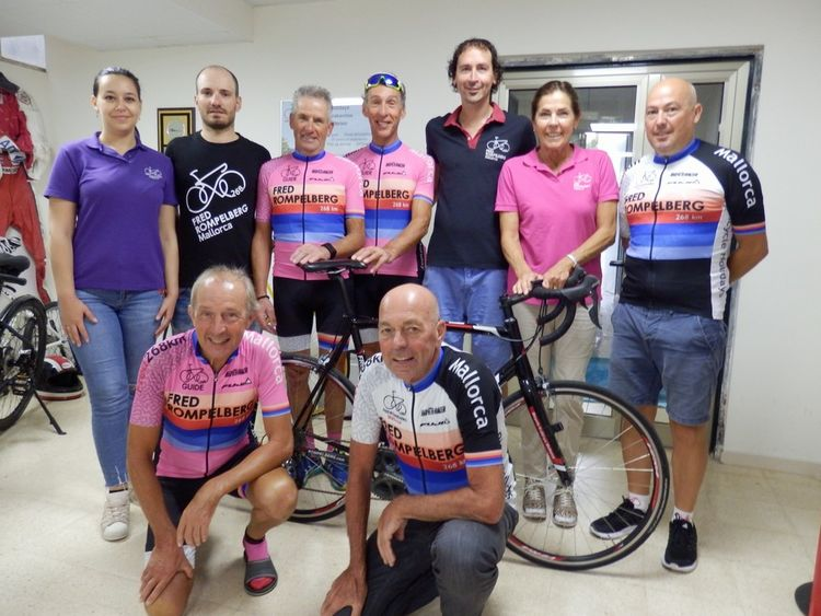 Picture 8: Fred Rompelberg 268 km: We are still on Mallorca till October 28, 2018, last minute offer Hotel Taurus Park!