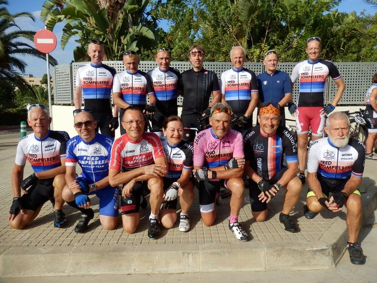 Picture 10: Fred Rompelberg 268 km: We have the winners of 16 FREE trips for 2019 for Mallorca!