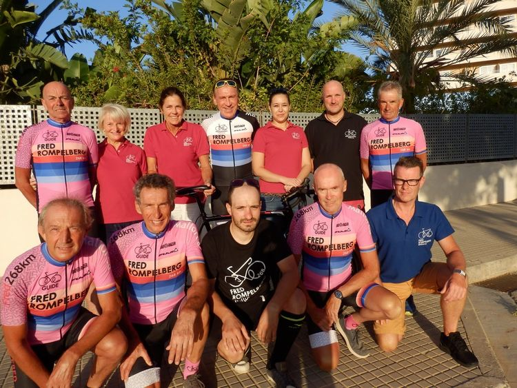 Picture 3: Fred Rompelberg 268 km: We have the winners of 16 FREE trips for 2019 for Mallorca!