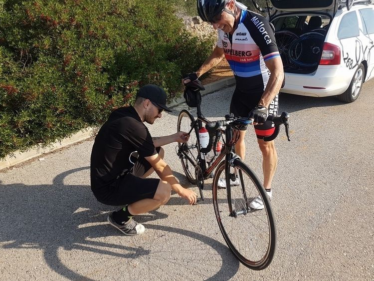 Picture 8: Fred Rompelberg 268 km: Autumn Mallorca is a great success, we are on Mallorca until October 28, 2018!