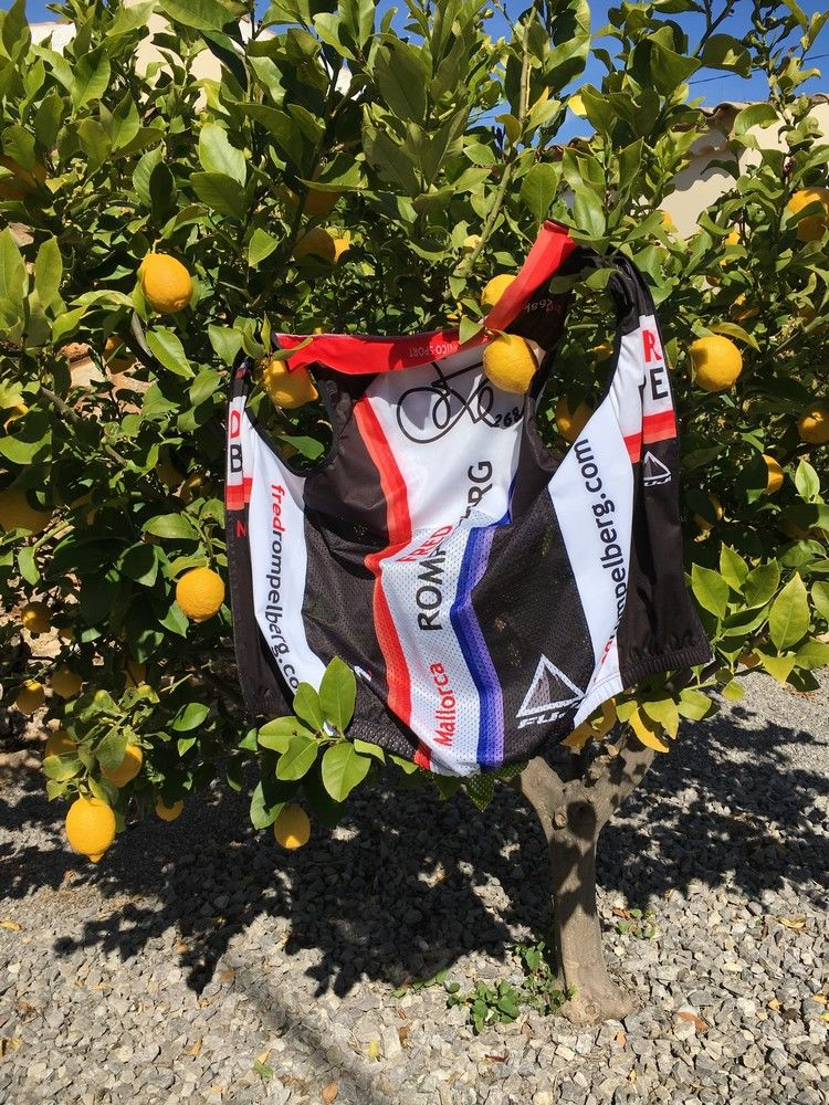 Picture 13: Fred Rompelberg 268 km: The many bookings for 2019, there is a 2nd trip to Mallorca raffled among our guests, Fred 268 km.