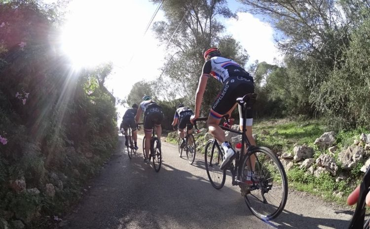Picture 14: Fred Rompelberg 268 km: The many bookings for 2019, there is a 2nd trip to Mallorca raffled among our guests, Fred 268 km.