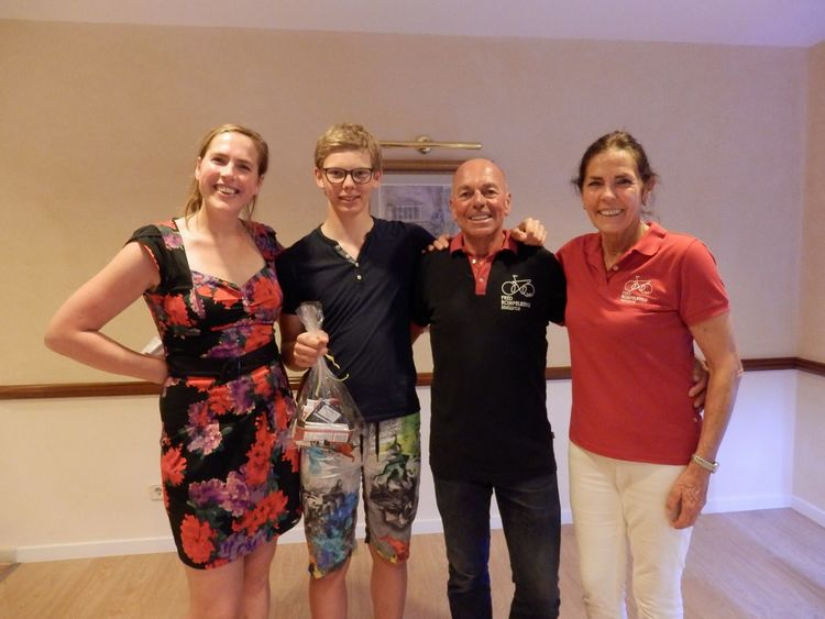 Picture 1: Fred Rompelberg 268 km: 6th trip for free, for our guests who book their cycling holiday 2019 with us.