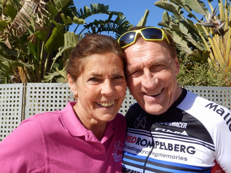 Picture 1: Fred Rompelberg 268 km: Mallorca the true cycling paradise! TREMENDOUSLY.
