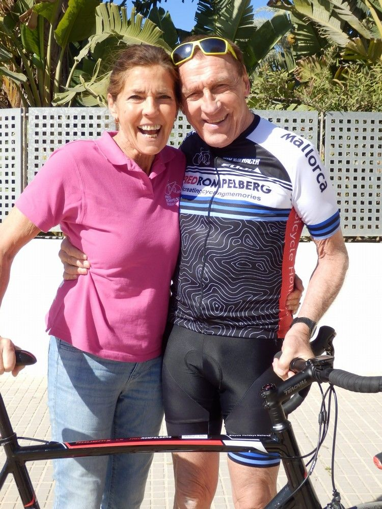 Picture 2: Fred Rompelberg 268 km: Mallorca the true cycling paradise! TREMENDOUSLY.