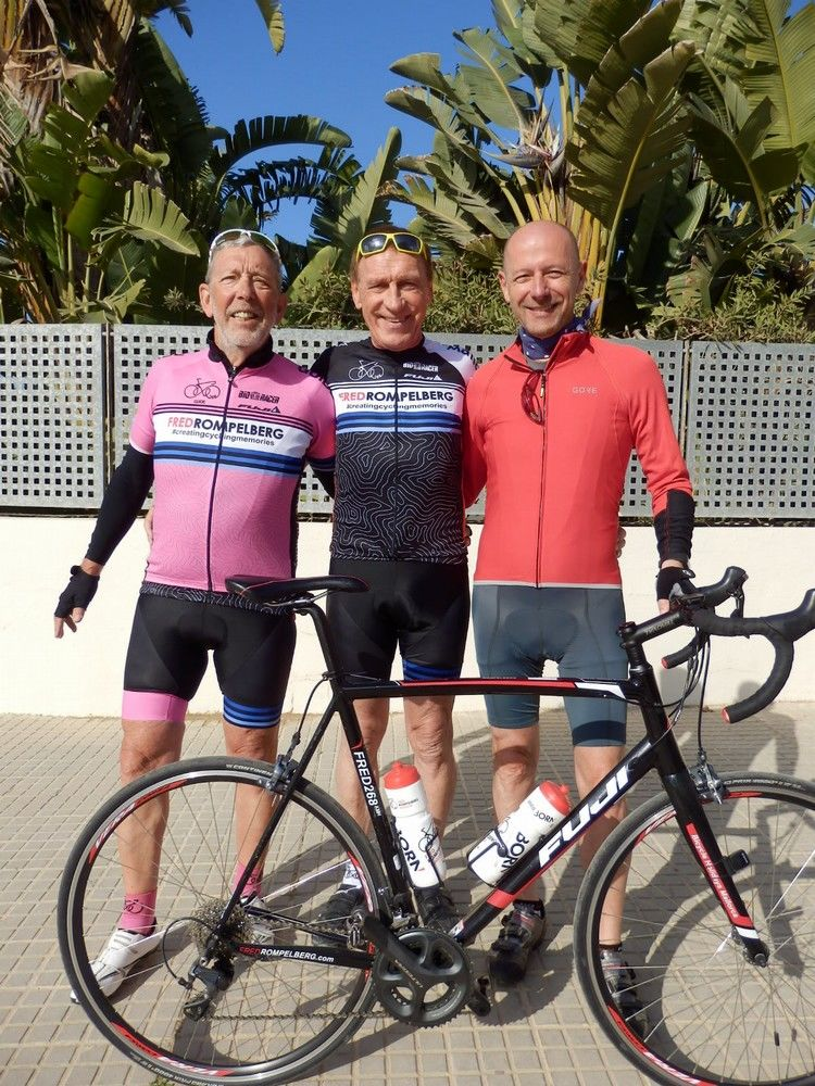 Picture 22: Fred Rompelberg 268 km: Enjoy now again your cycling-holiday also from June untill December 2019 with us on Mallorca with Fred 268 km!