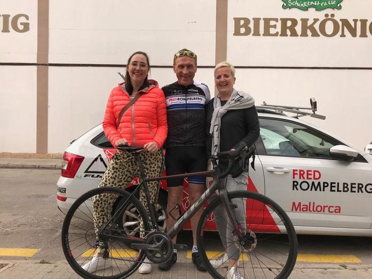 Picture 7: Fred Rompelberg 268 km: Enjoy now again your cycling-holiday also from June untill December 2019 with us on Mallorca with Fred 268 km!