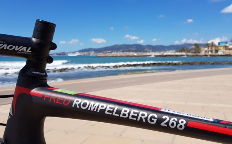 Picture 25: Fred Rompelberg 268 km: Especially for the amazing bookings for 2019, a 9th trip to Mallorca completely costless!