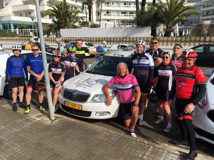 Picture 10: Fred Rompelberg 268 km: Especially for the amazing bookings for 2019, a 10th trip to Mallorca completely costless!
