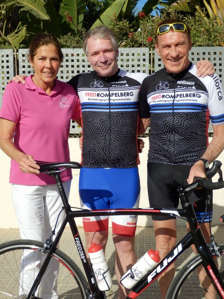 Picture 1: Fred Rompelberg 268 km: Record week on Mallorca, 704 guests in 1 week!