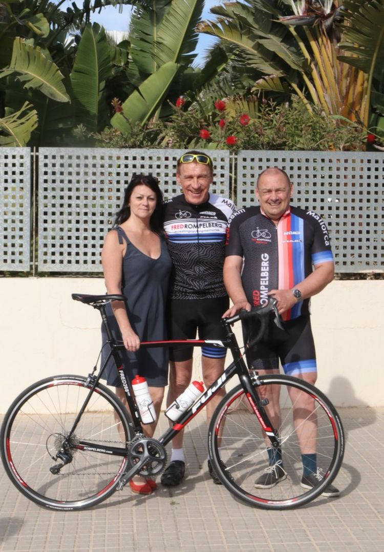 Picture 12: Fred Rompelberg 268 km: Record week on Mallorca, 704 guests in 1 week!
