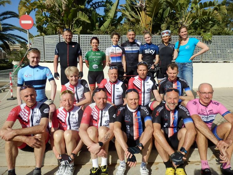 Picture 15: Fred Rompelberg 268 km: We are on Mallorca all year round!