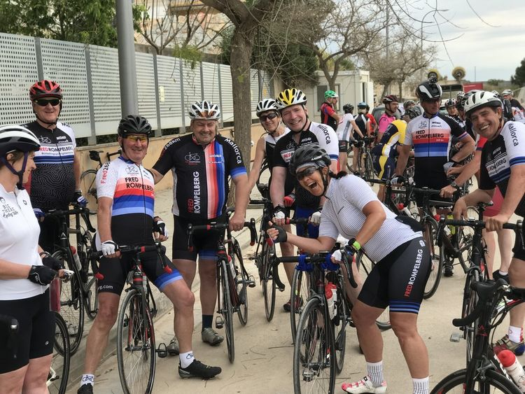 Picture 7: Fred Rompelberg 268 km: We are on Mallorca all year round!