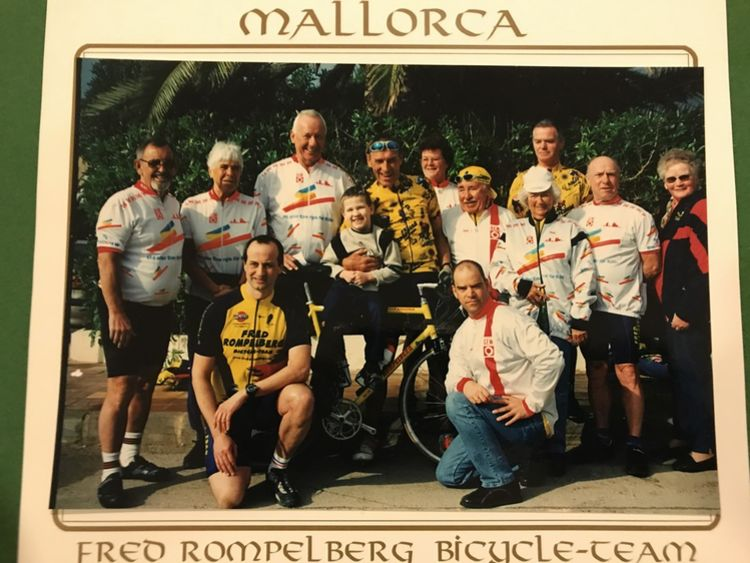Picture 10: Fred Rompelberg 268 km: We are back from vacation next week.