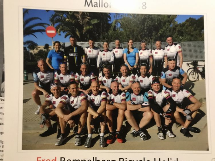 Picture 11: Fred Rompelberg 268 km: We are back from vacation next week.