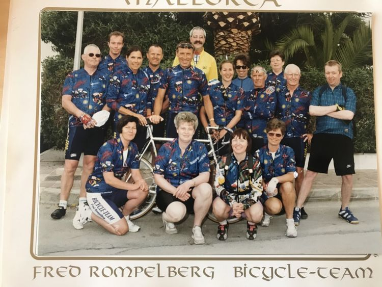 Picture 12: Fred Rompelberg 268 km: We are back from vacation next week.
